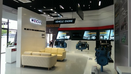 Weichai Showroom in Hochiminh City