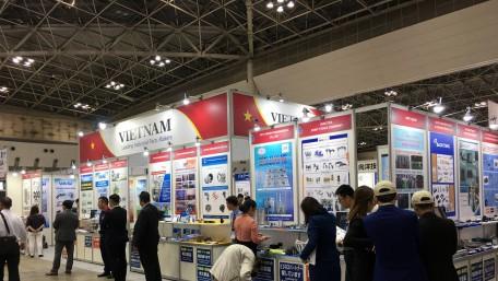Khu gian hàng Vietnam @ Mtech Tokyo 2018