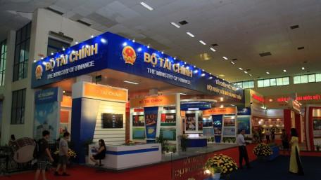 Gian hàng Bộ Tài chính @ Triển lãm thành tựu Việt Nam