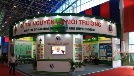 Gian hàng Bộ Tài nguyên và Môi trường @ Triển lãm thành tựu Việt Nam