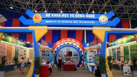 Gian hàng Bộ khoa học và công nghệ @ Triển lãm thành tựu Việt Nam